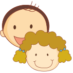 TWO CHILDREN TUITION ICON
