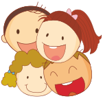 FOUR CHILDREN TUITION ICON