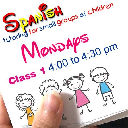 Register Mondays Class 1