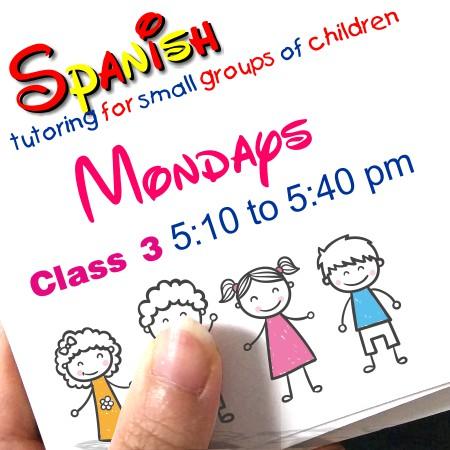 Register Mondays Class 3