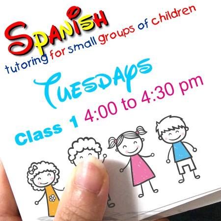 Register Tuesdays Class 1