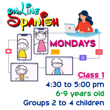 Register Mondays Online Class 1