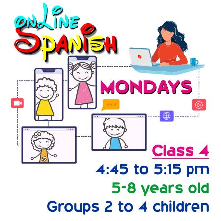 Register Mondays Online Class 4