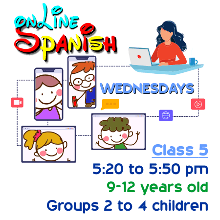 Register Wednesdays Online Class 5