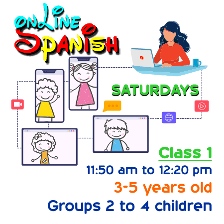 Register Saturdays Online Class 1