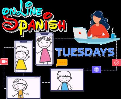 Online Tuesdays Spanish Class